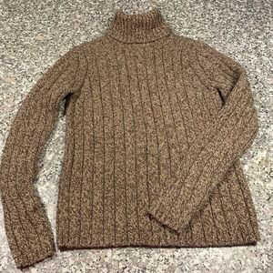 Eddie Bauer chunky turtle neck sweater size S